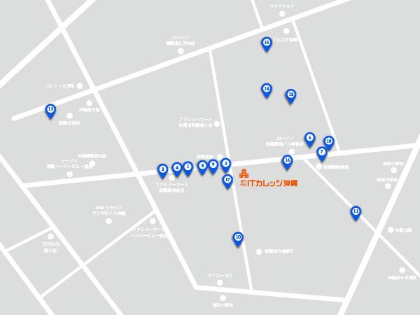 アイカレランチマップ