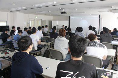 第2回 ゲームクリエイター科向けセミナー CGアーティスト 渡嘉敷拓馬氏