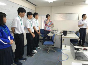 那覇商業高校インターンシップ(7/9-7/11)