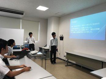 那覇工業高校インターンシップ(9/25-9/27)